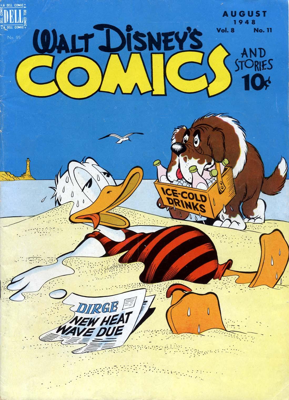 Walt Disneys Comics and Stories 95 Page 1