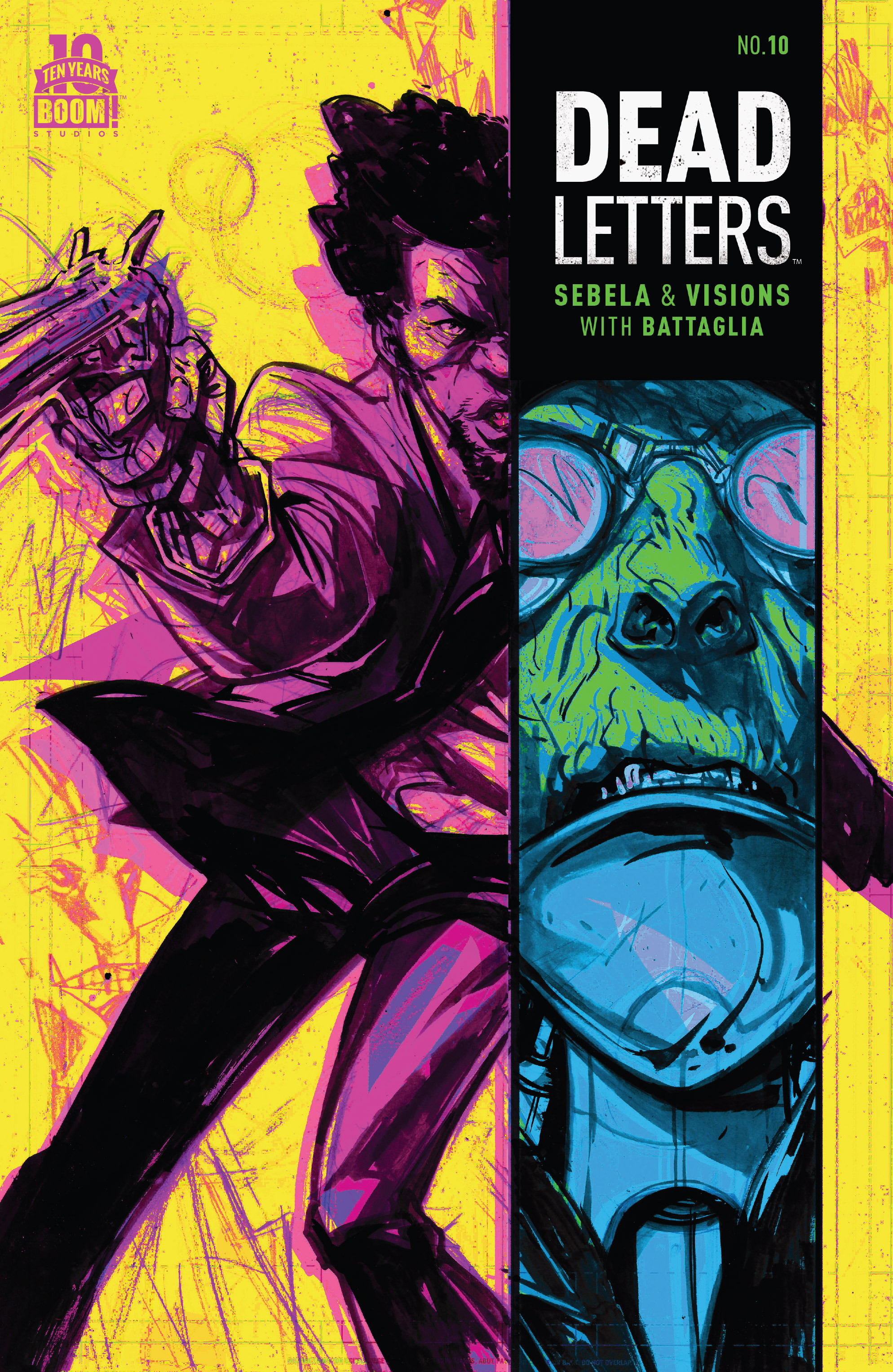 Read online Dead Letters comic -  Issue #10 - 1