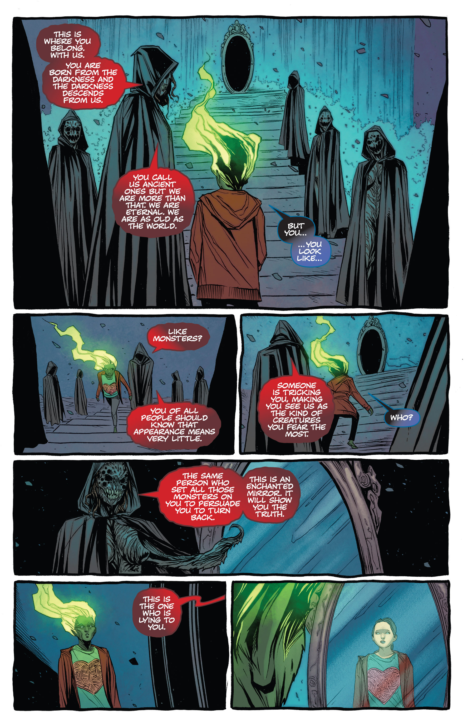Read online The Darkness (2007) comic -  Issue #113 - 15