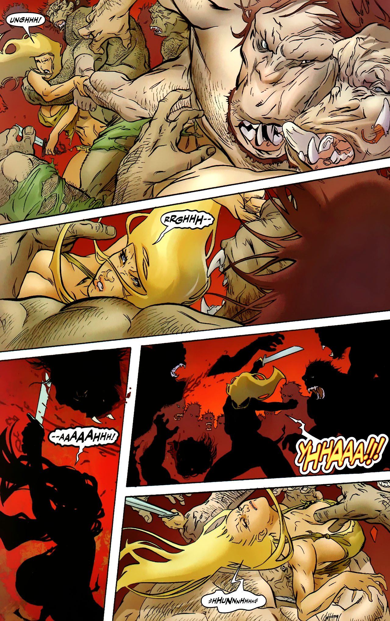 Read online Shanna the She-Devil: Survival of the Fittest comic -  Issue #2 - 15