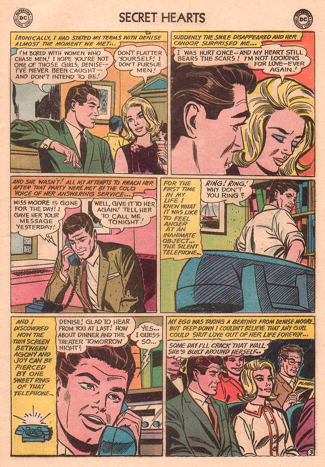 Read online Secret Hearts comic -  Issue #94 - 5