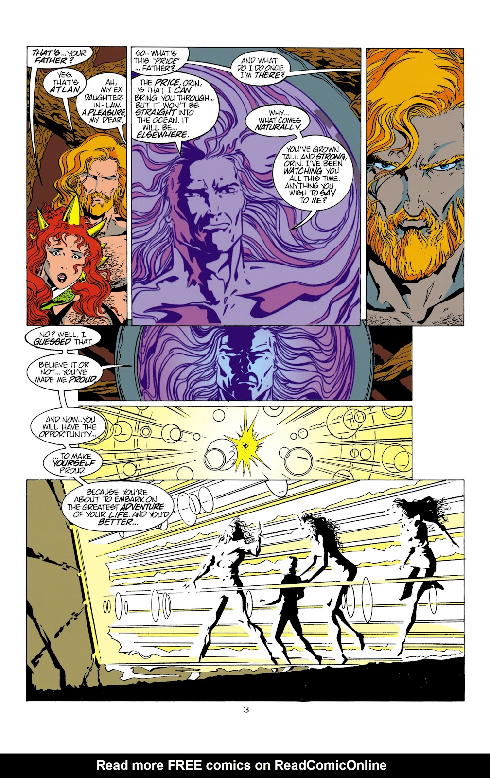 Aquaman (1994) Issue #15 #21 - English 4