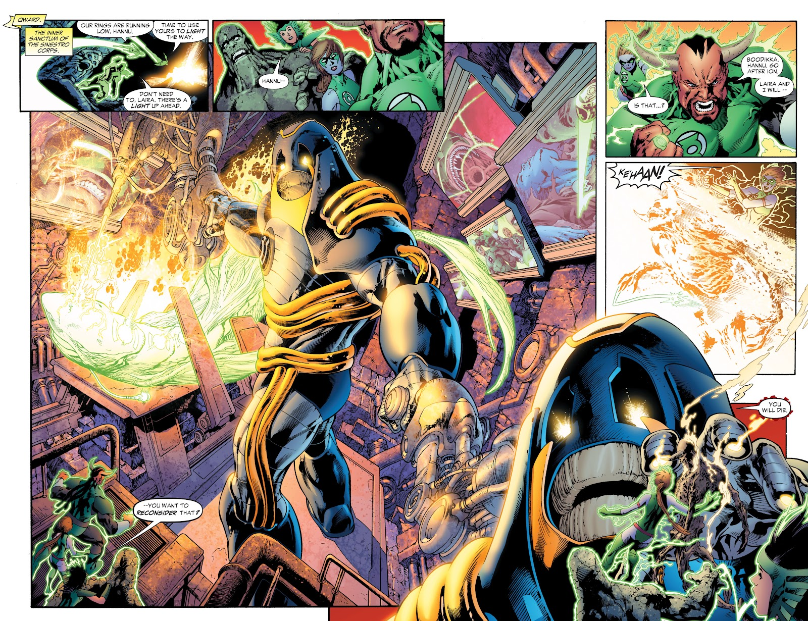 Green Lantern: The Sinestro Corps War Full #1 - English 145
