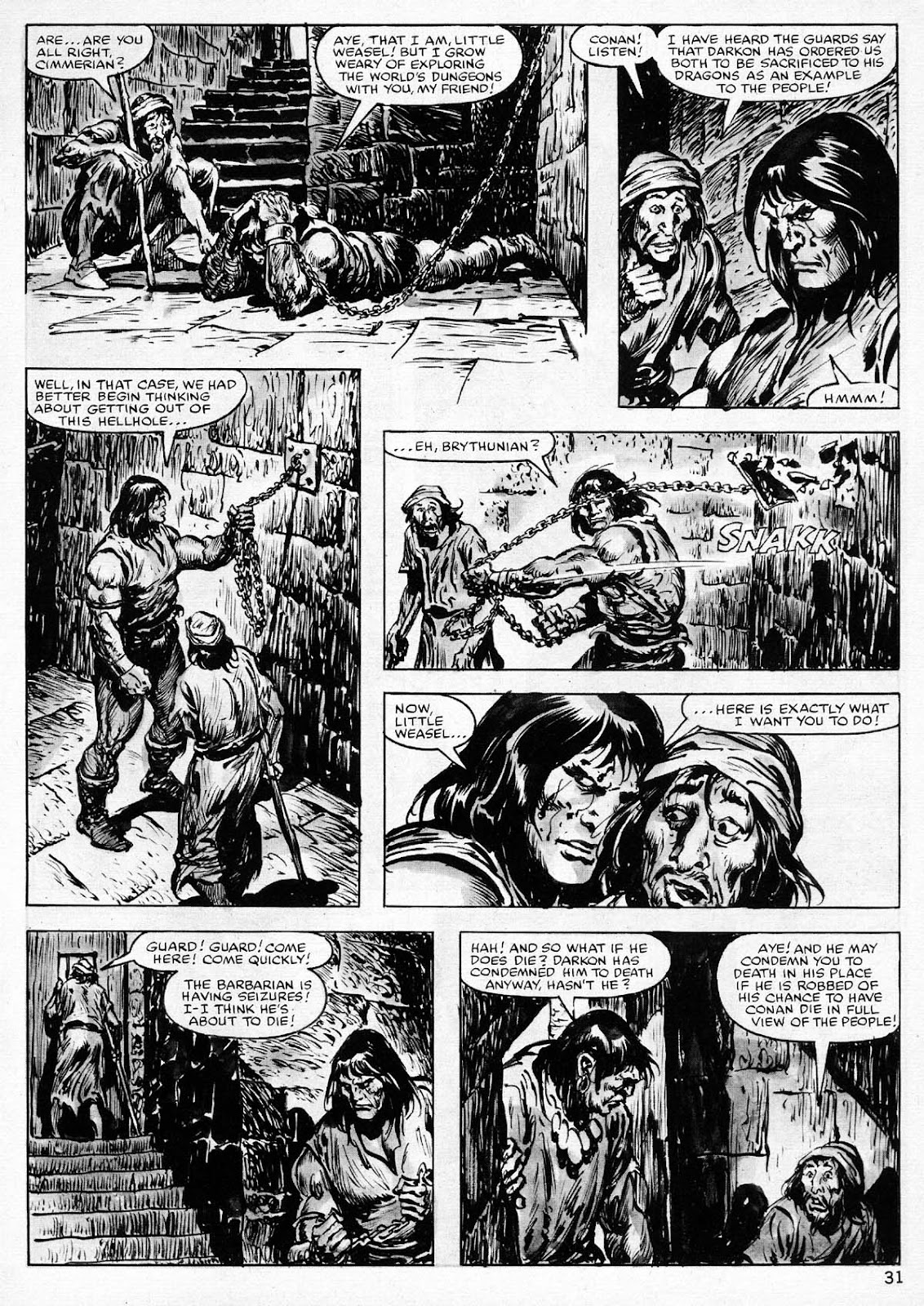 The Savage Sword Of Conan Issue #77 #78 - English 31