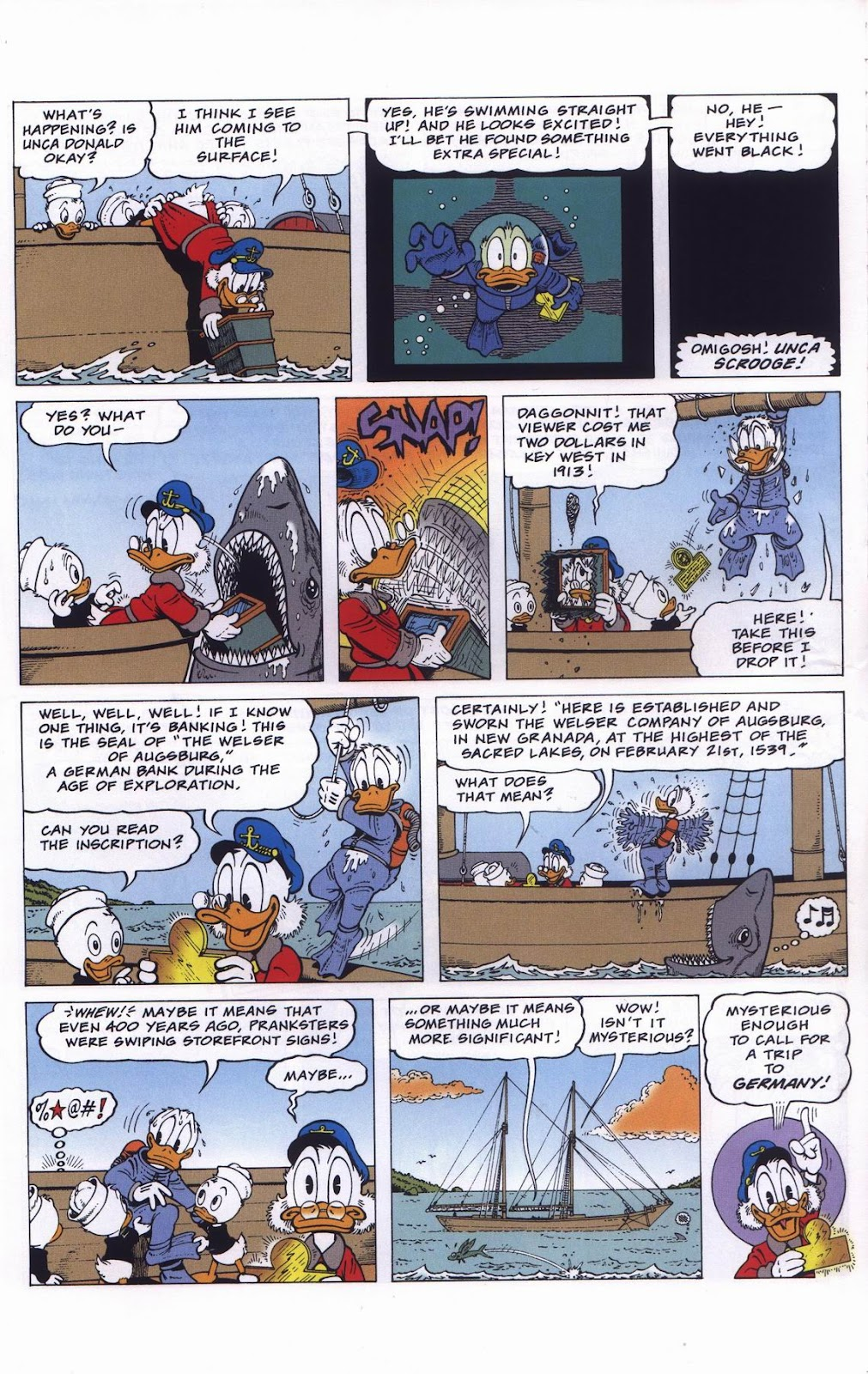 Uncle Scrooge (1953) Issue #311 #311 - English 8