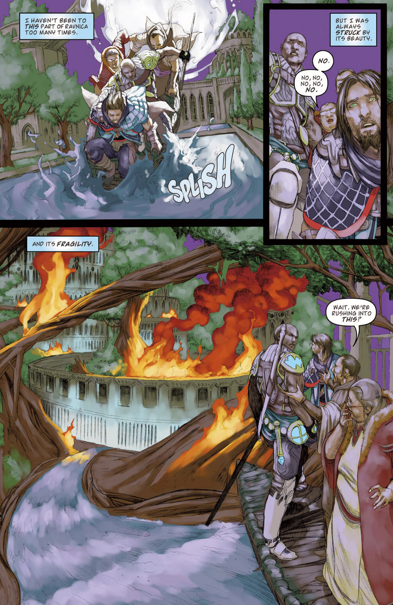 Read online Magic: The Gathering--Path of Vengeance comic -  Issue #3 - 21
