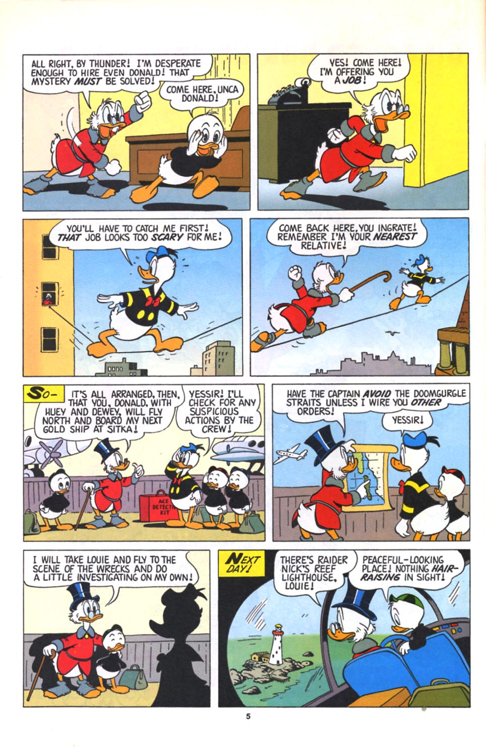 ll>Uncle Scrooge (1953)  #125 - English 6