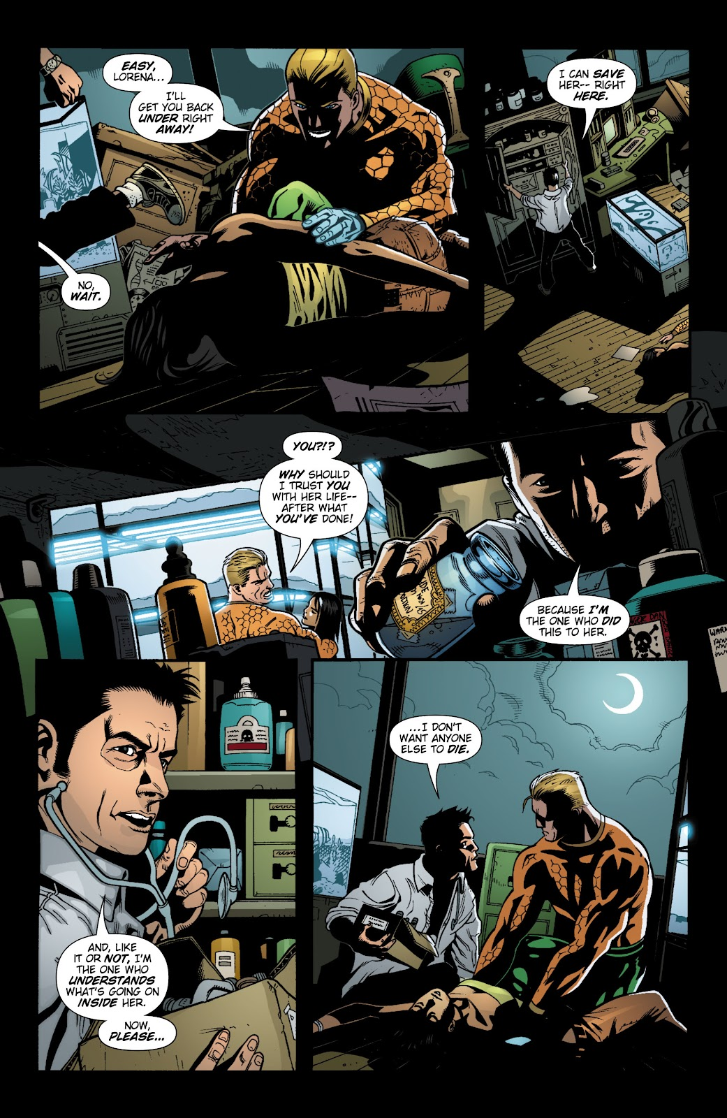 Aquaman (2003) Issue #19 #19 - English 20