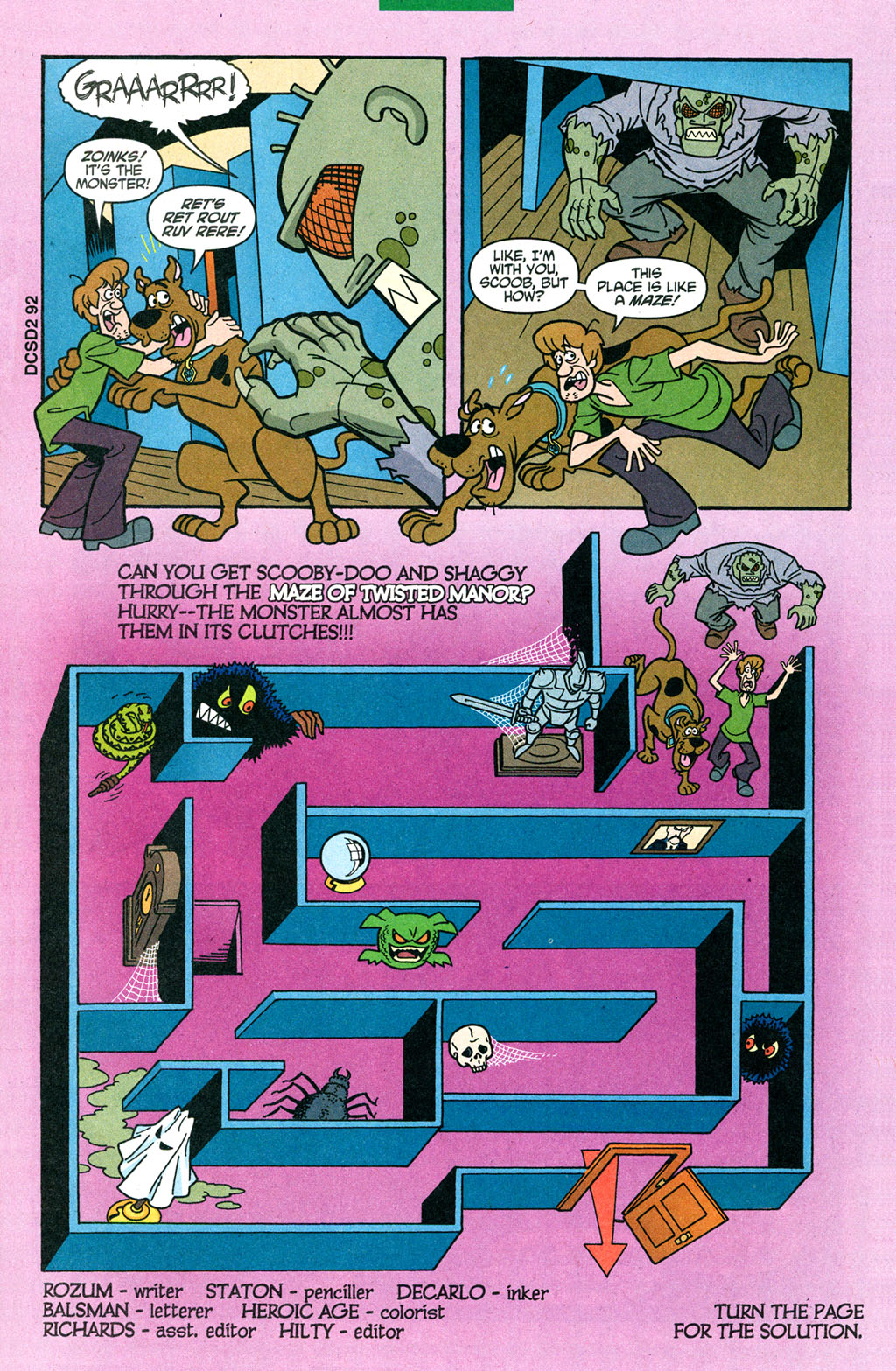 Read online Scooby-Doo (1997) comic -  Issue #93 - 10