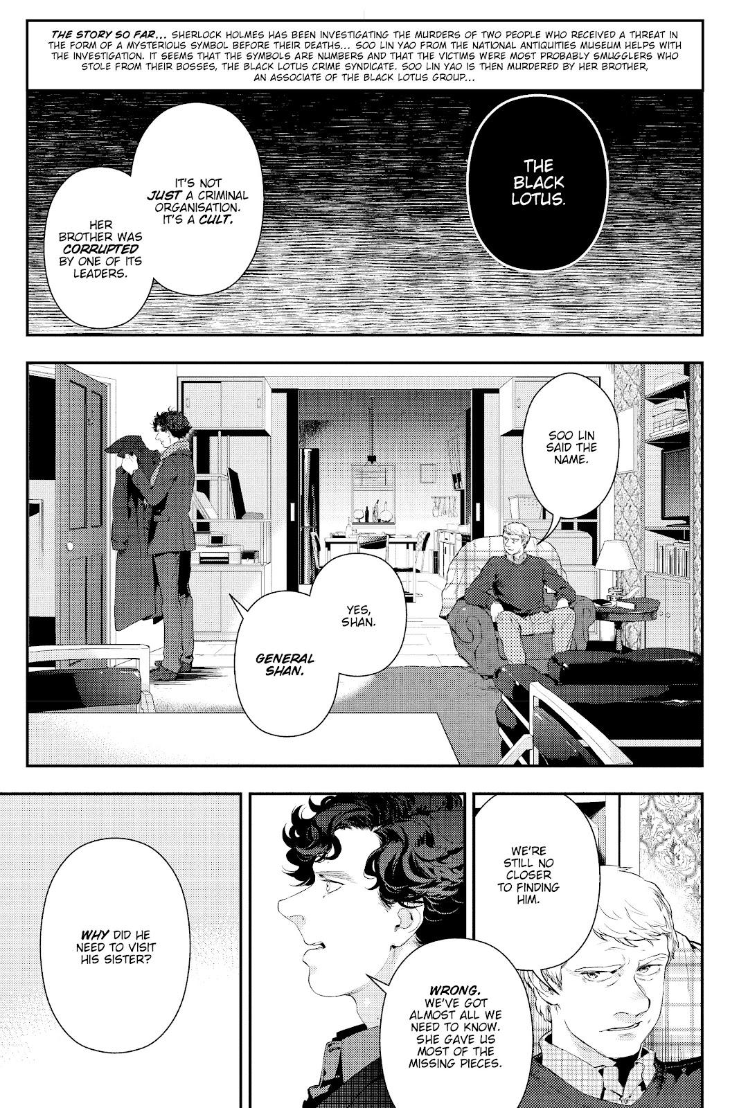 Sherlock: The Blind Banker Issue #5 #5 - English 5