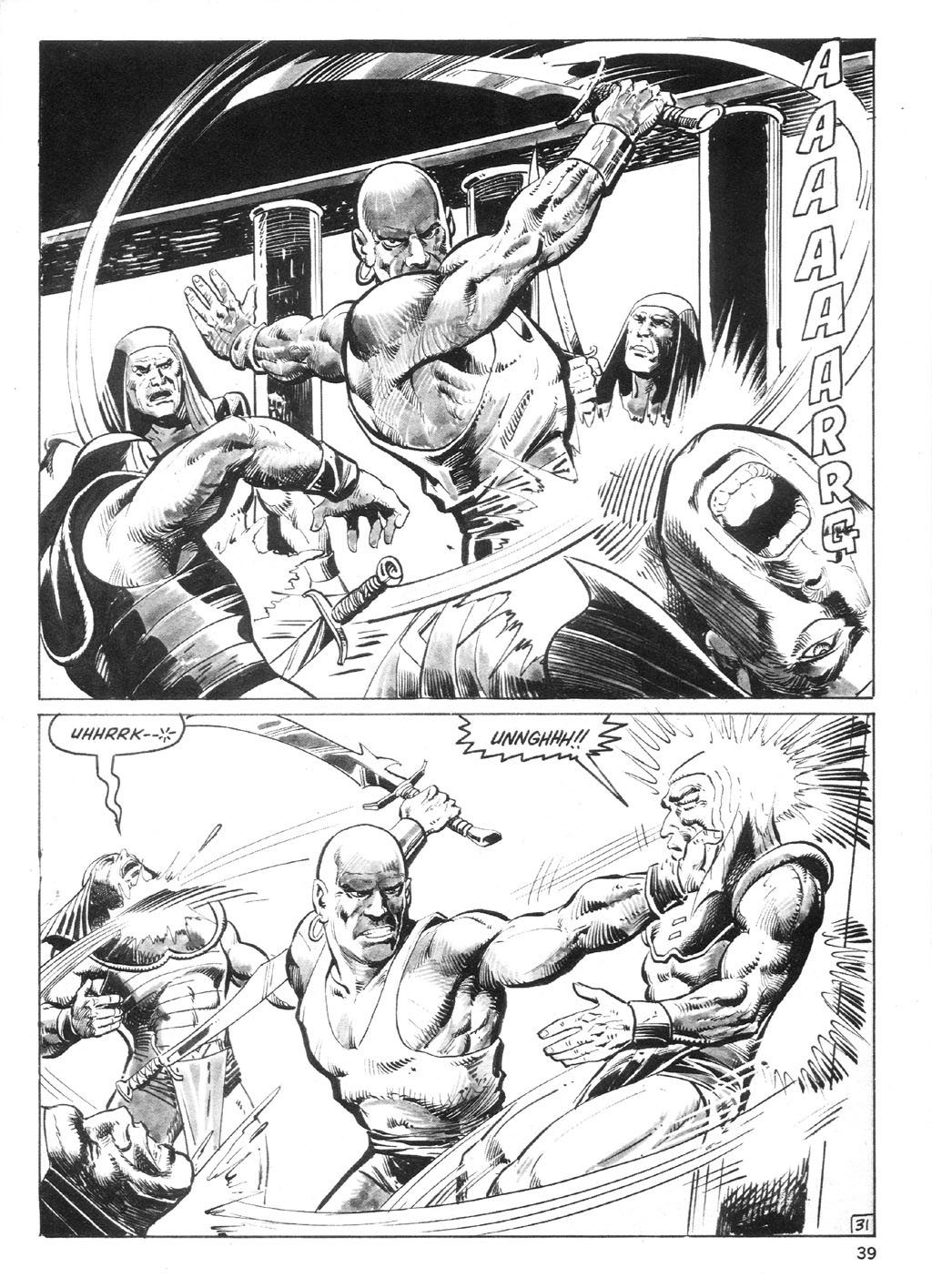 The Savage Sword Of Conan Issue #94 #95 - English 38
