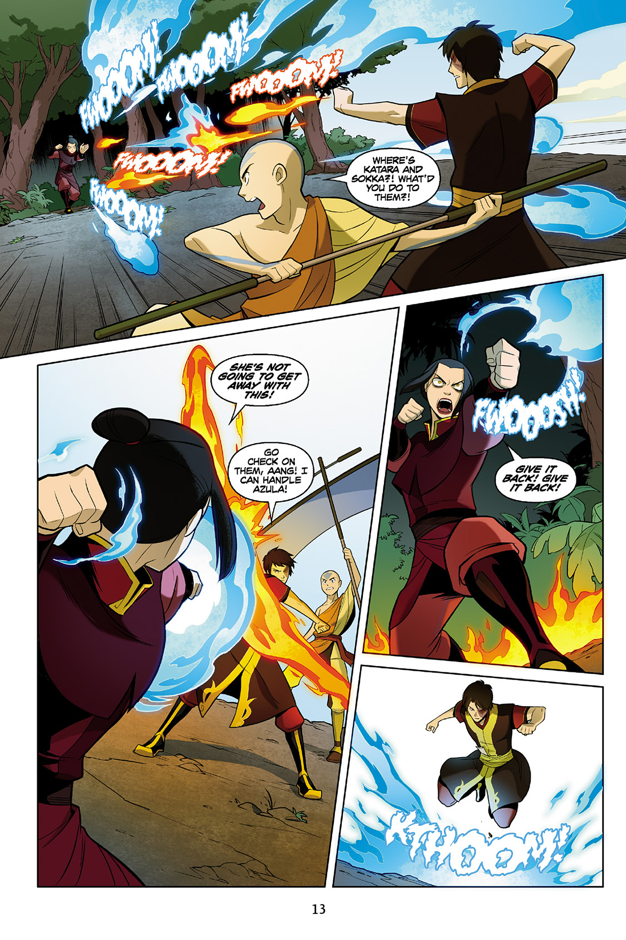 Read online Nickelodeon Avatar: The Last Airbender - The Search comic -  Issue # Part 2 - 14