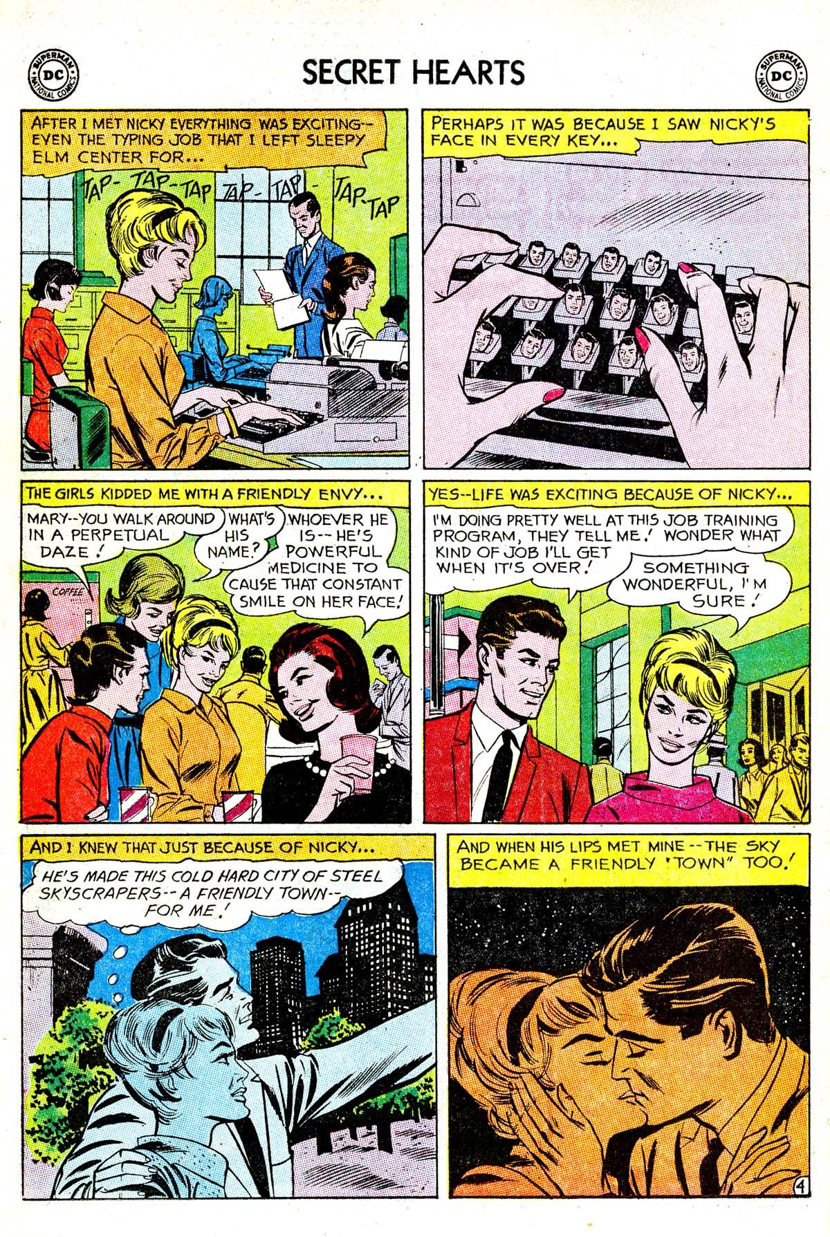 Read online Secret Hearts comic -  Issue #85 - 6