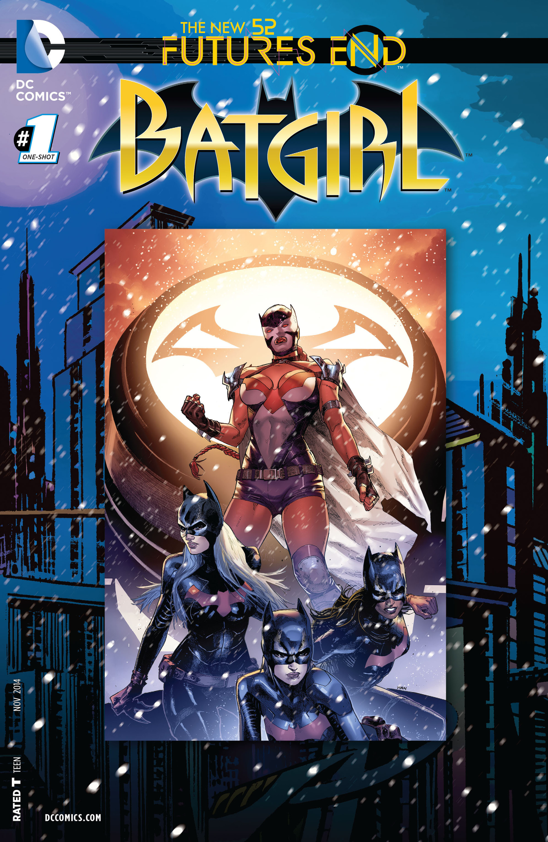 Batgirl: Futures End Full Page 1