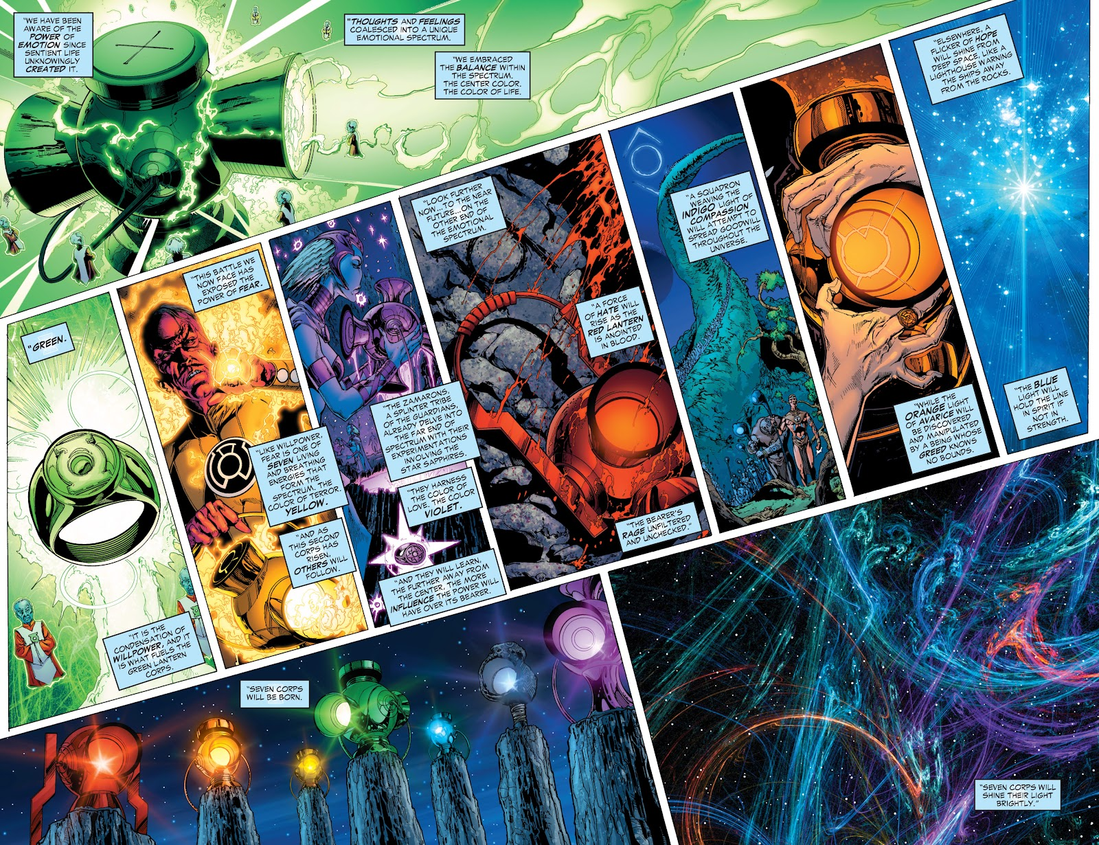 Green Lantern: The Sinestro Corps War Full #1 - English 250