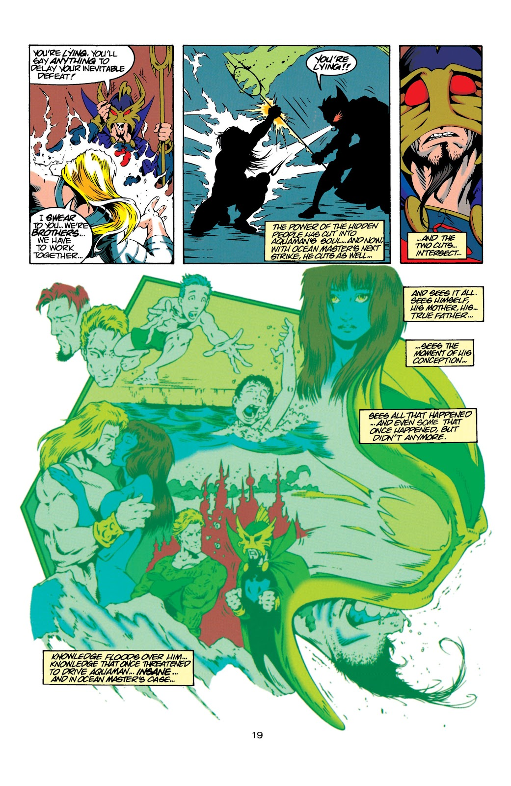 Aquaman (1994) Issue #20 #26 - English 19