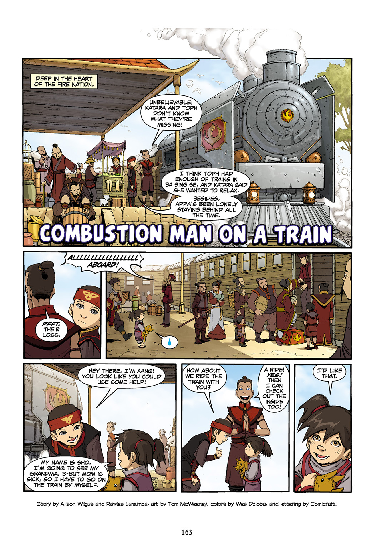 Nickelodeon Avatar: The Last Airbender - The Lost Adventures chap full pic 164