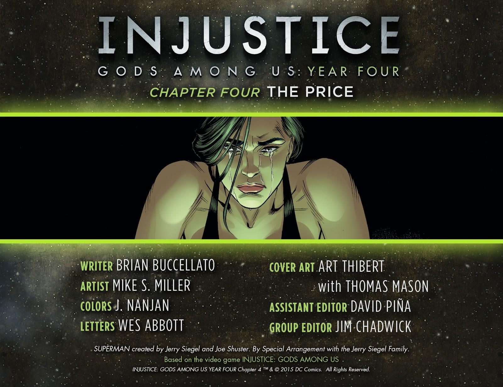 Injustice: Gods Among Us Year Four Issue #4 #5 - English 2