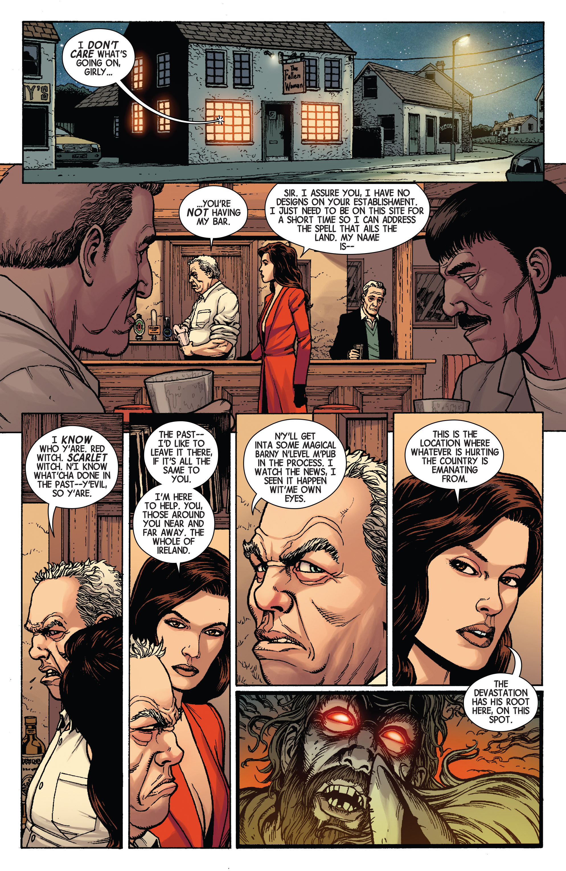 Read online Scarlet Witch (2016) comic -  Issue #3 - 11