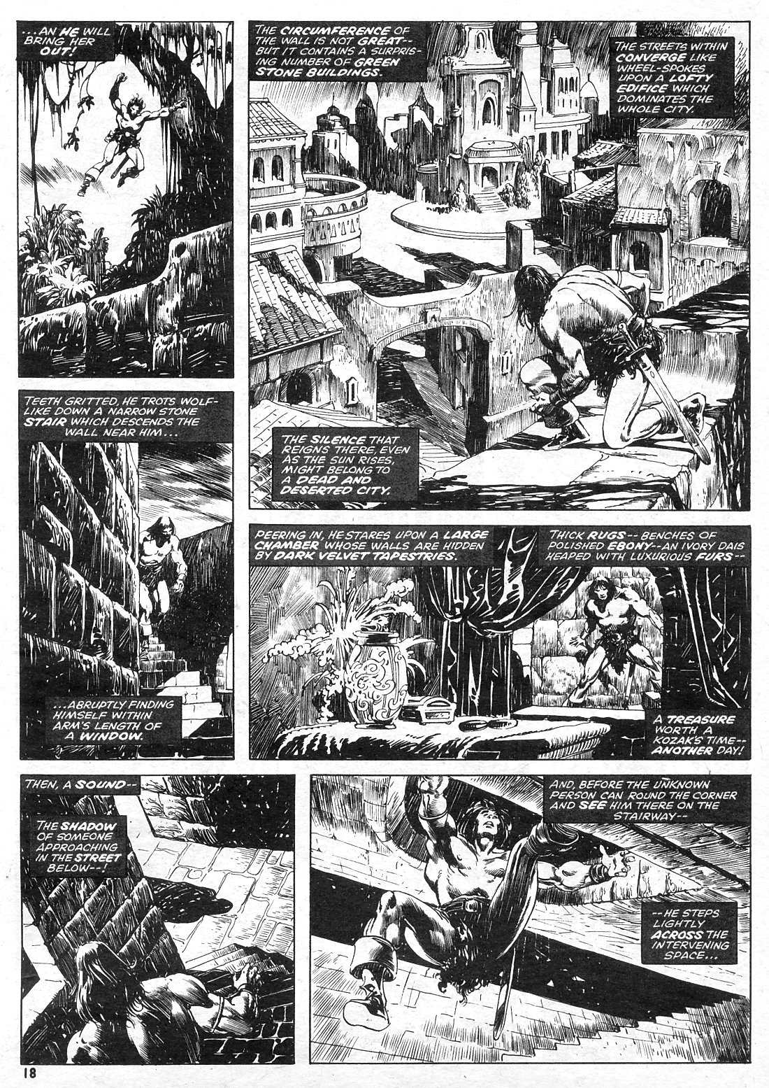 The Savage Sword Of Conan Issue #15 #16 - English 18