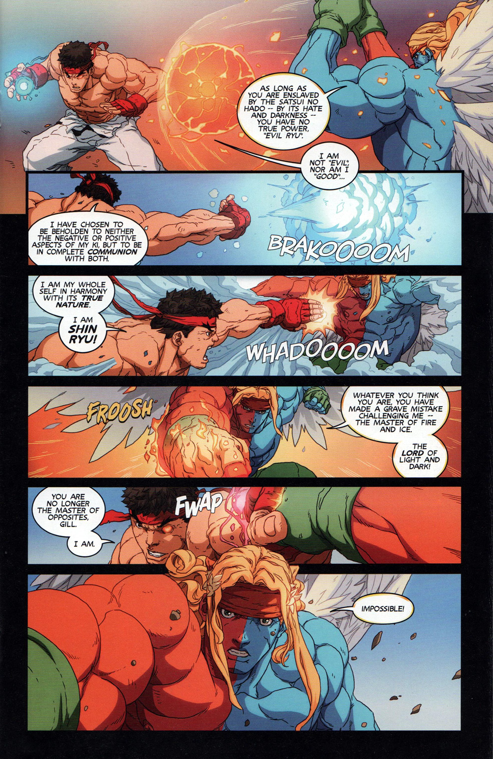 Street Fighter Unlimited Issue #11 #13 - English 17