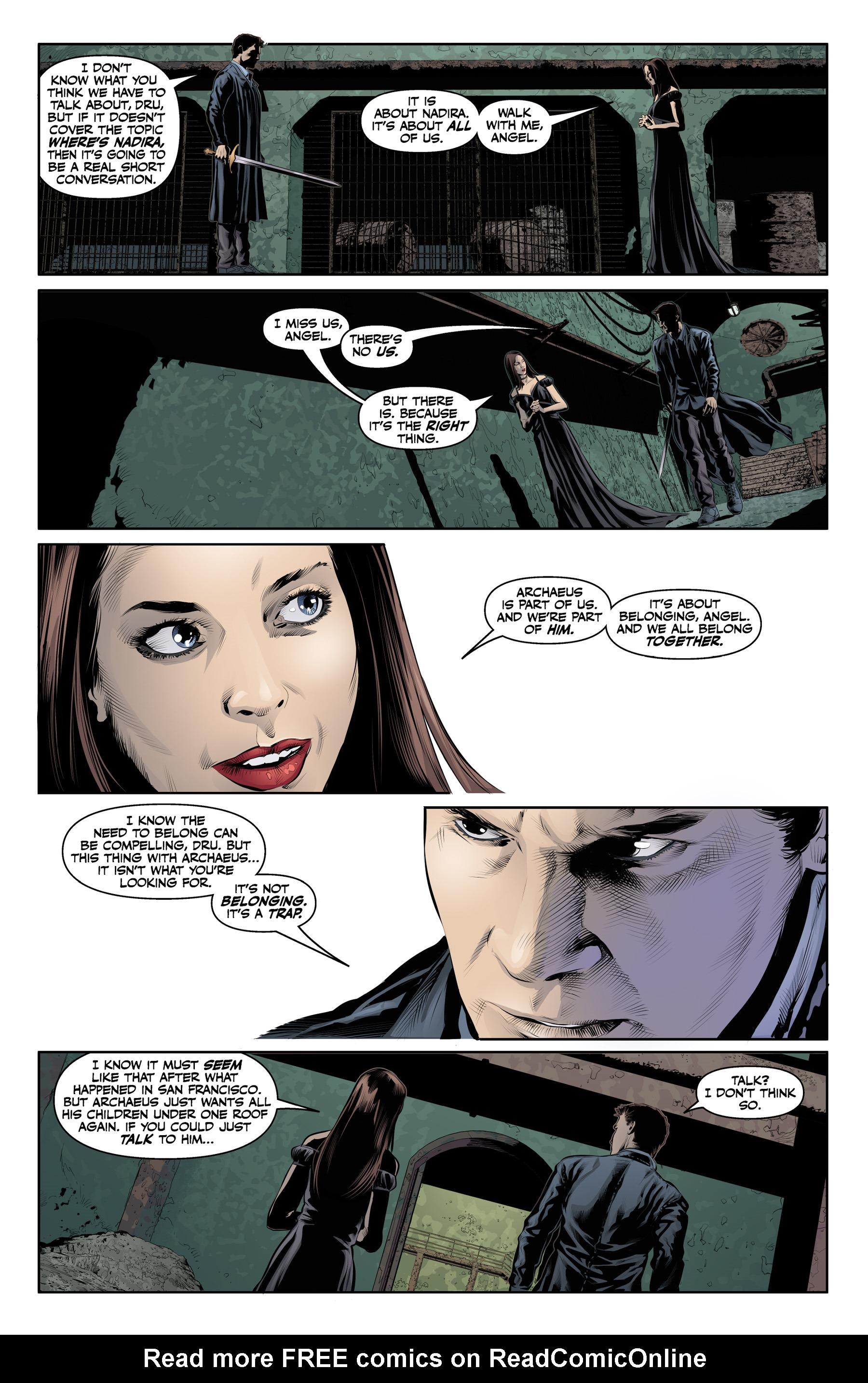 Read online Angel & Faith Season 10 comic -  Issue #21 - 21