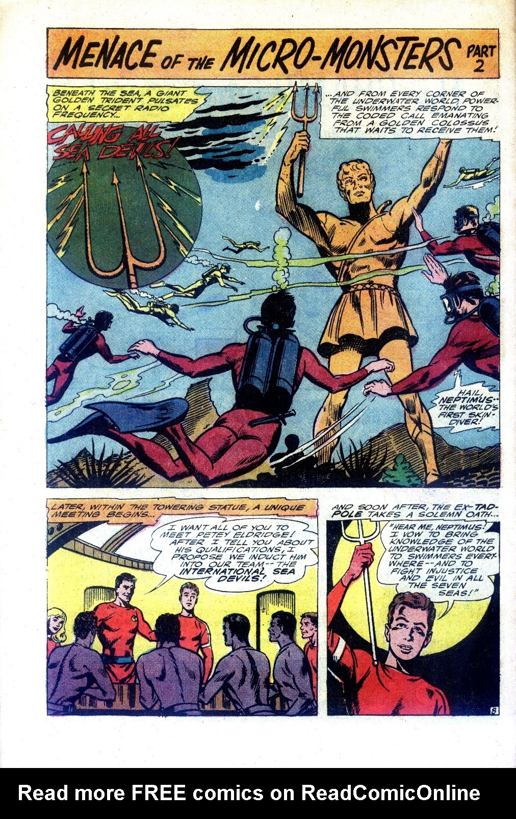 Read online Sea Devils comic -  Issue #27 - 13