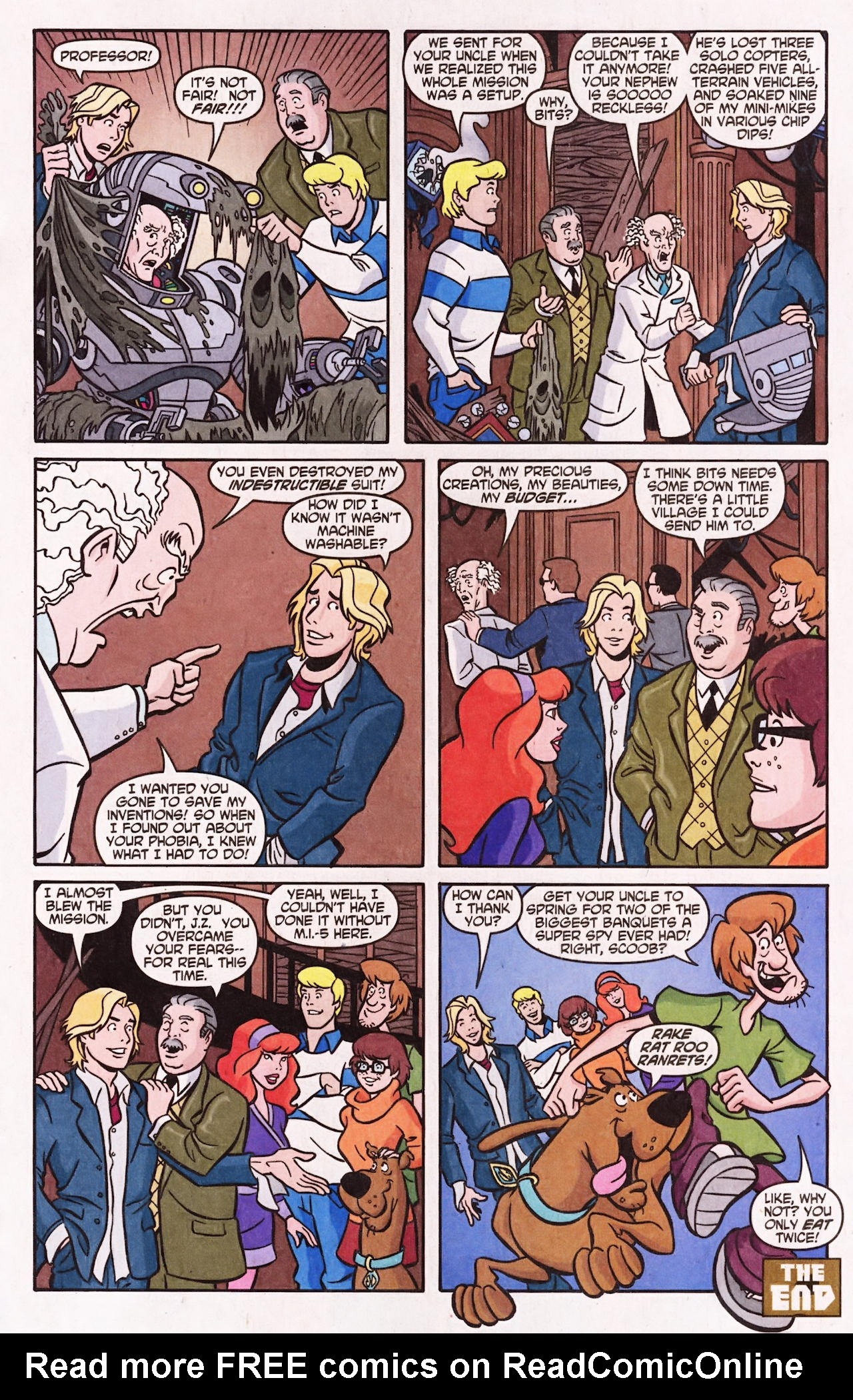 Read online Scooby-Doo (1997) comic -  Issue #138 - 11