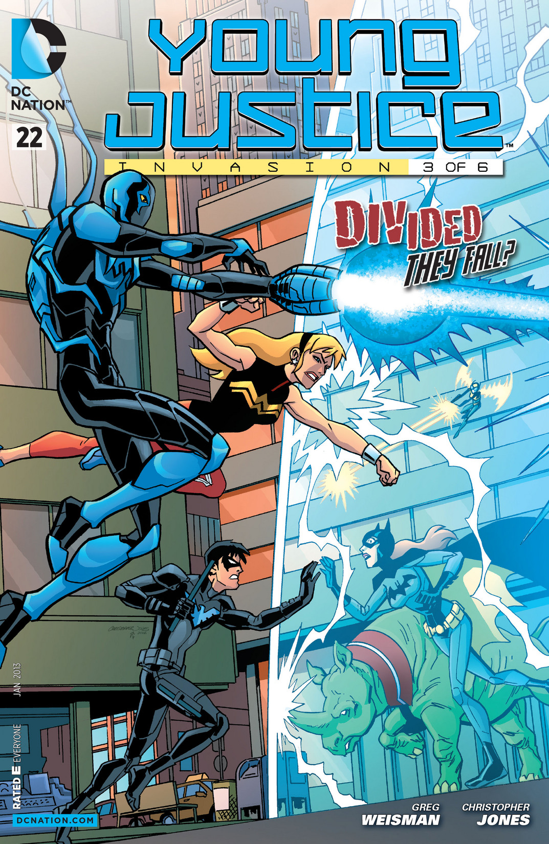 Young Justice (2011) 22 Page 1