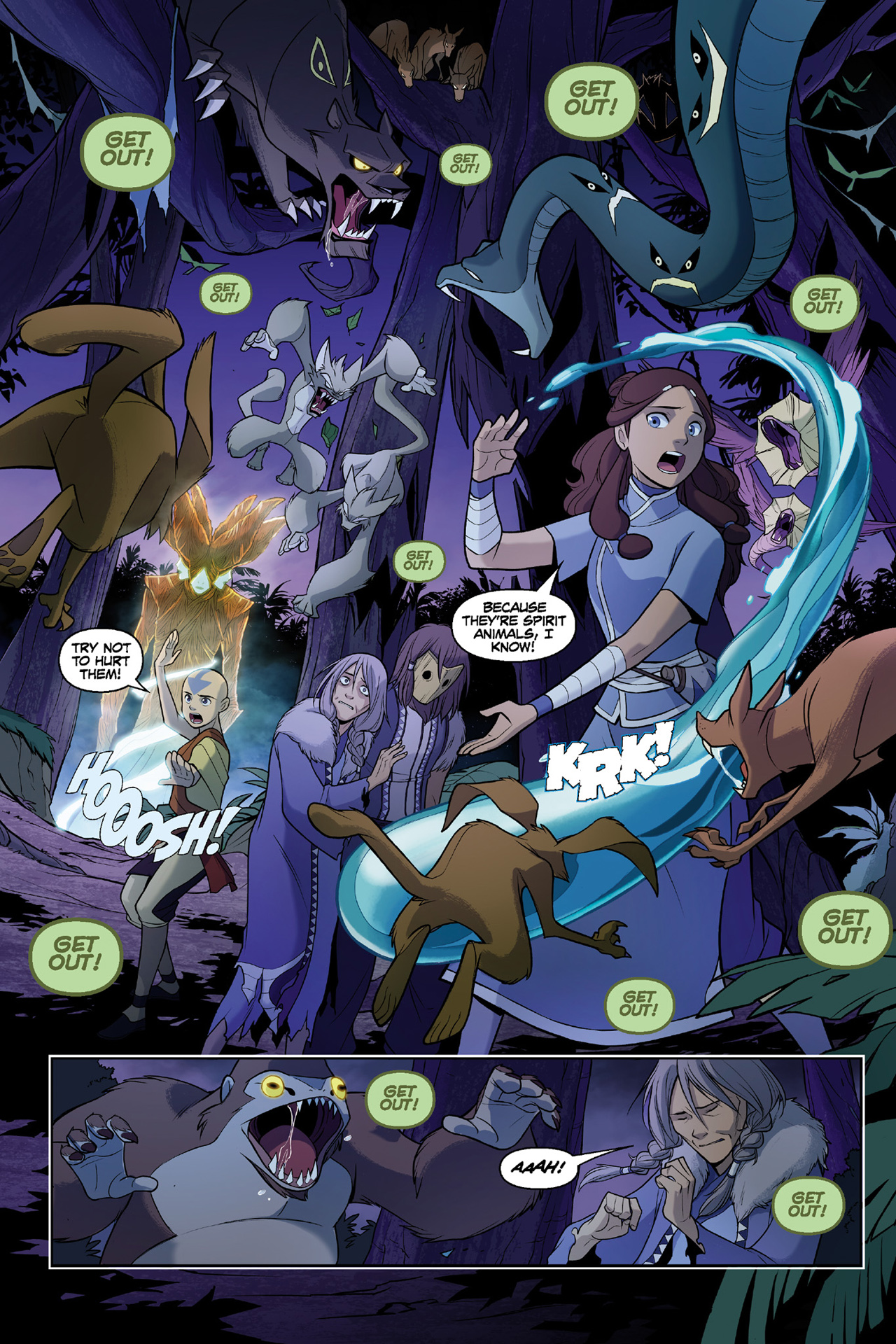 Read online Nickelodeon Avatar: The Last Airbender - The Search comic -  Issue # Part 3 - 48
