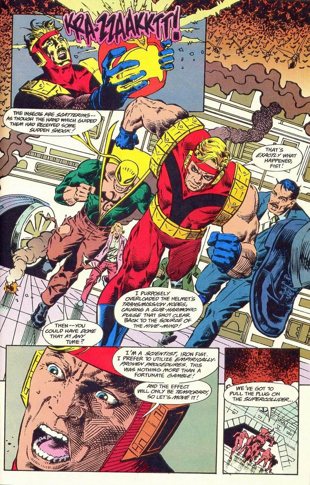 Read online Secret Defenders comic -  Issue #19 - 10