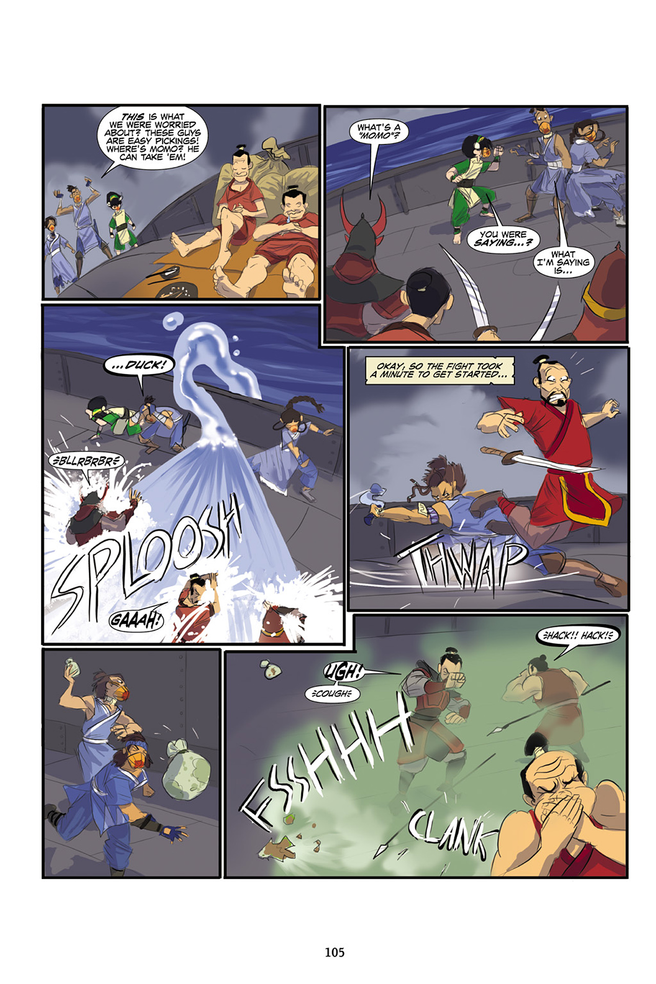 Nickelodeon Avatar: The Last Airbender - The Lost Adventures chap full pic 106