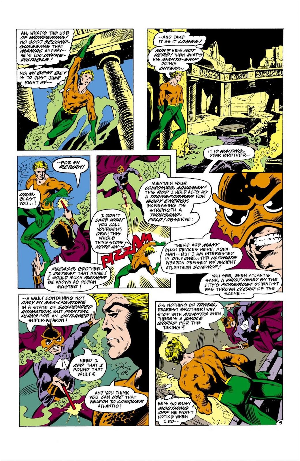Aquaman (1962) Issue #63 #63 - English 9