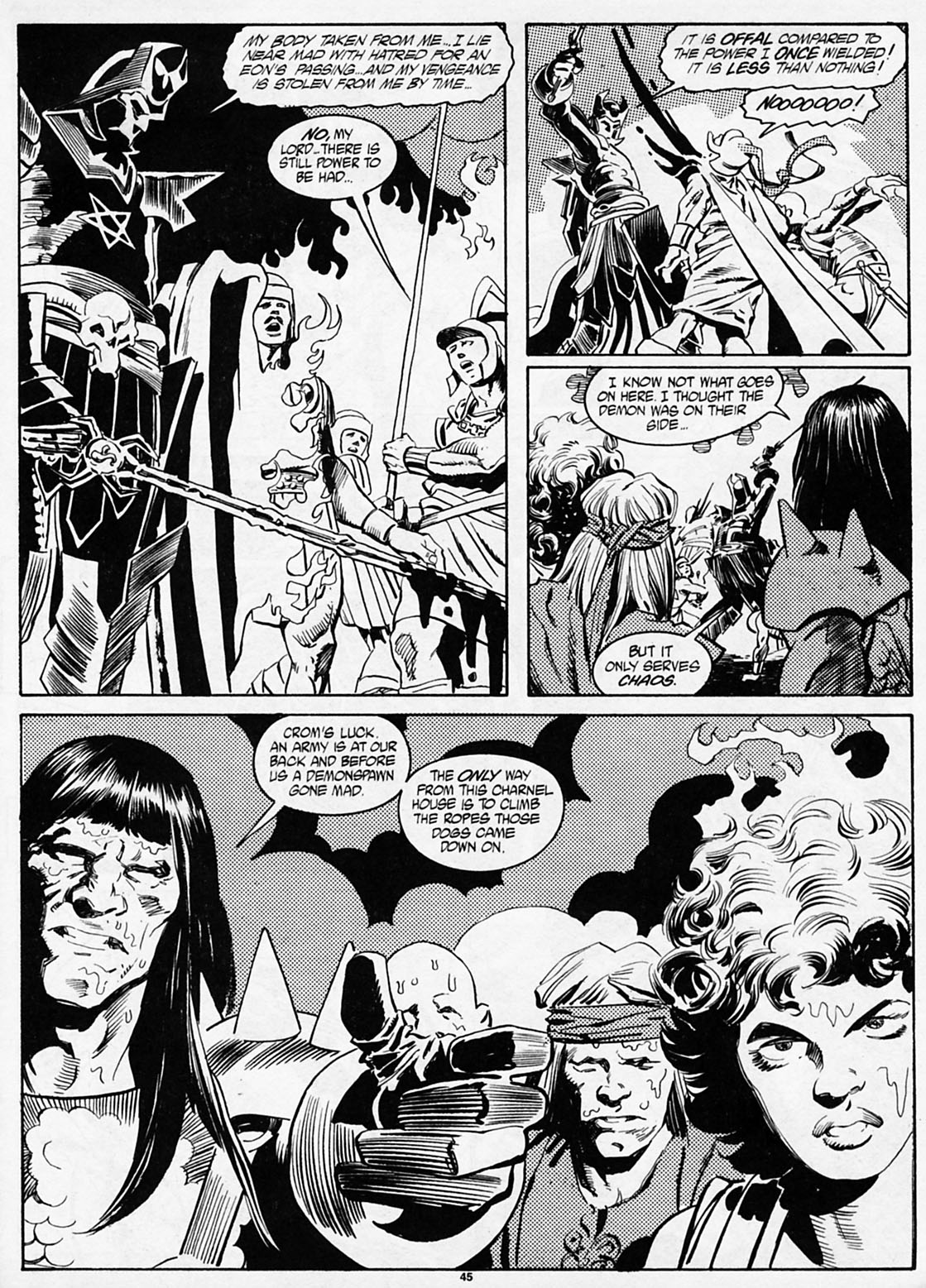 The Savage Sword Of Conan Issue #186 #187 - English 46