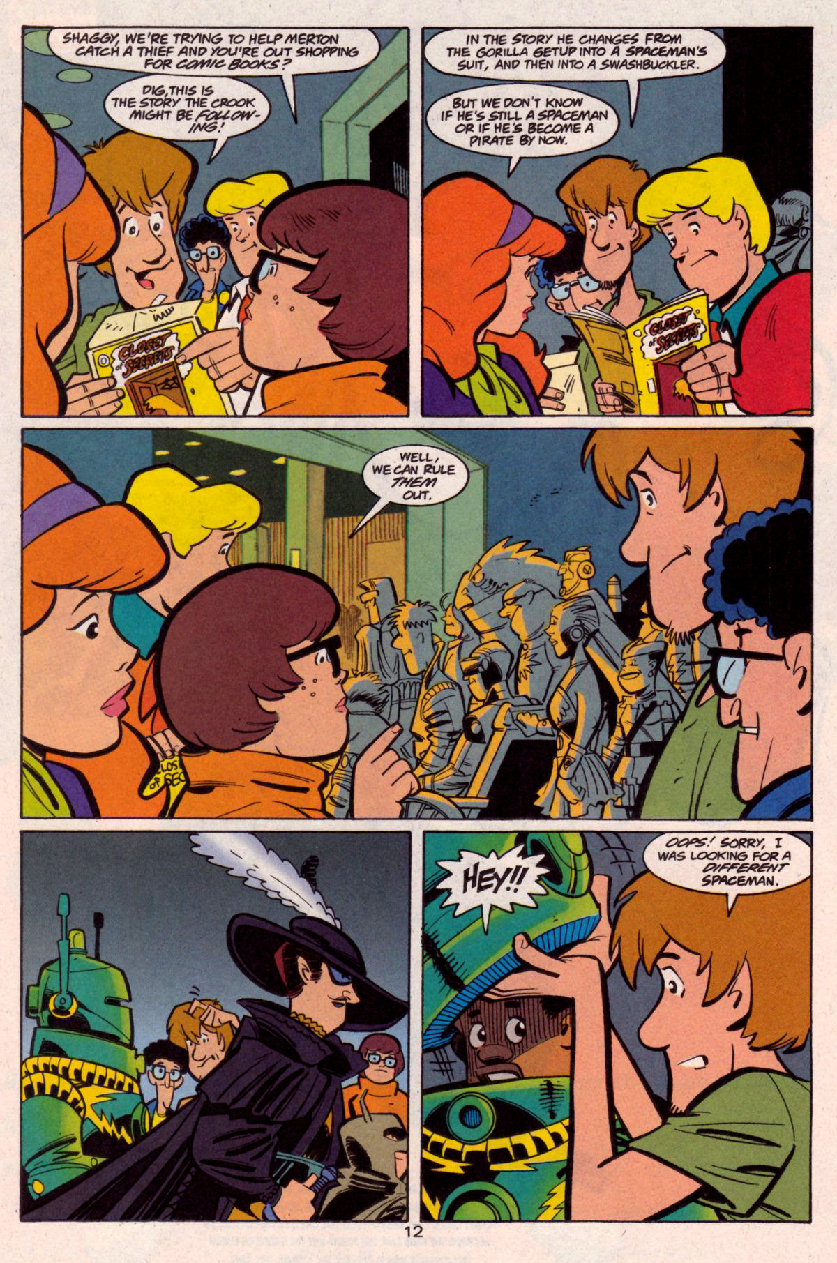 Read online Scooby-Doo (1997) comic -  Issue #12 - 13