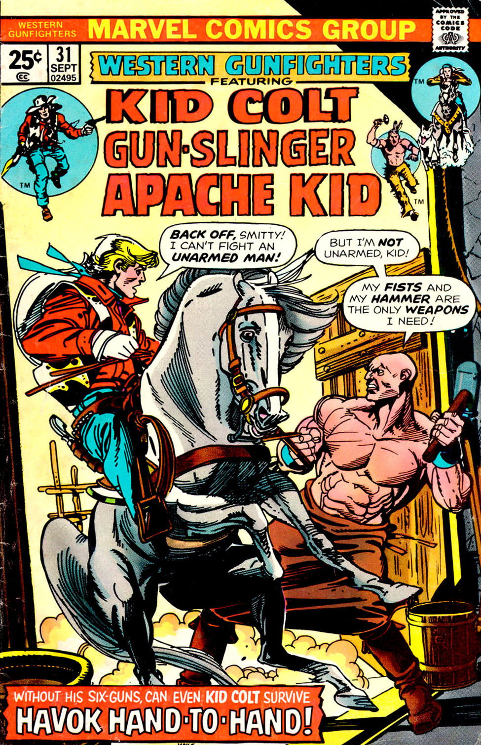 Western Gunfighters 31 Page 1