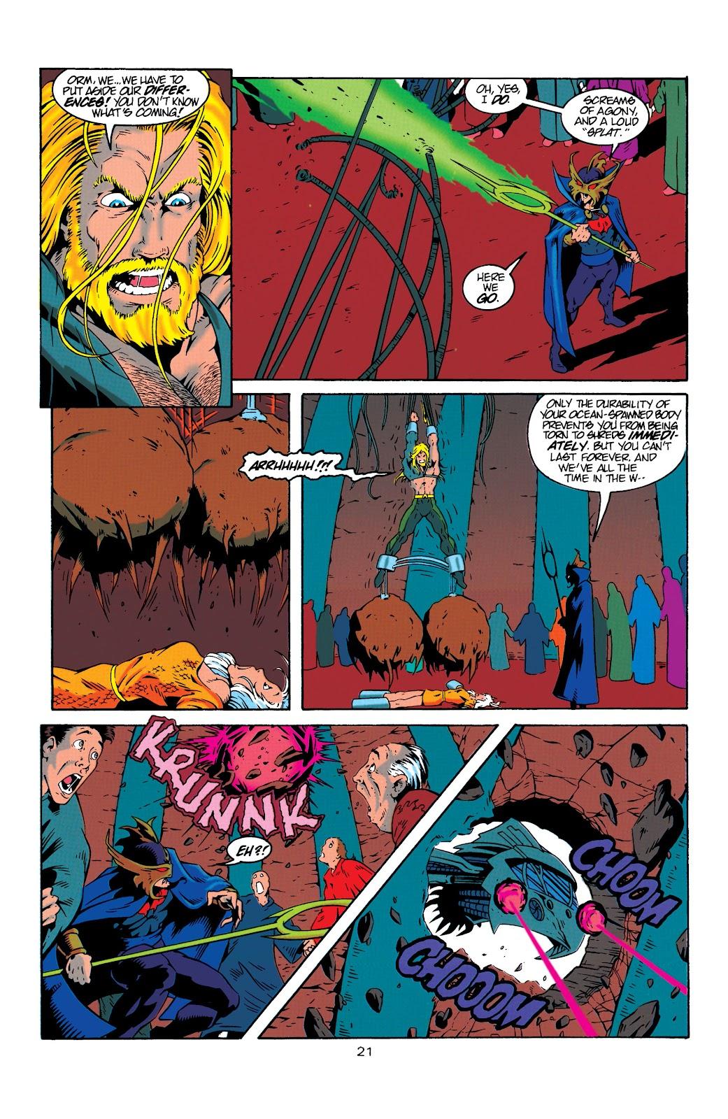 Aquaman (1994) Issue #19 #25 - English 21