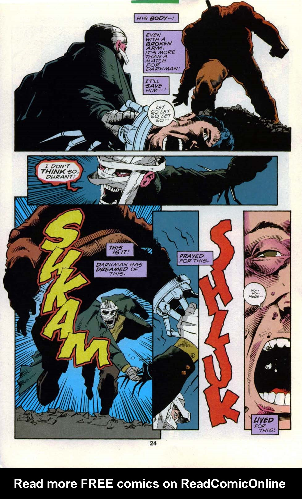 Darkman (1993) #6 #6 - English 19
