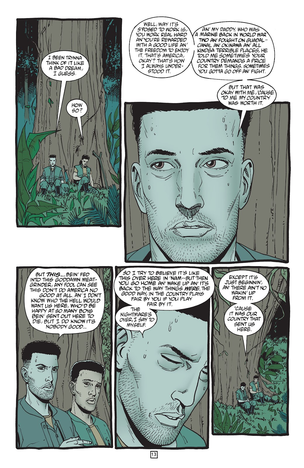 Preacher Issue #50 #59 - English 14