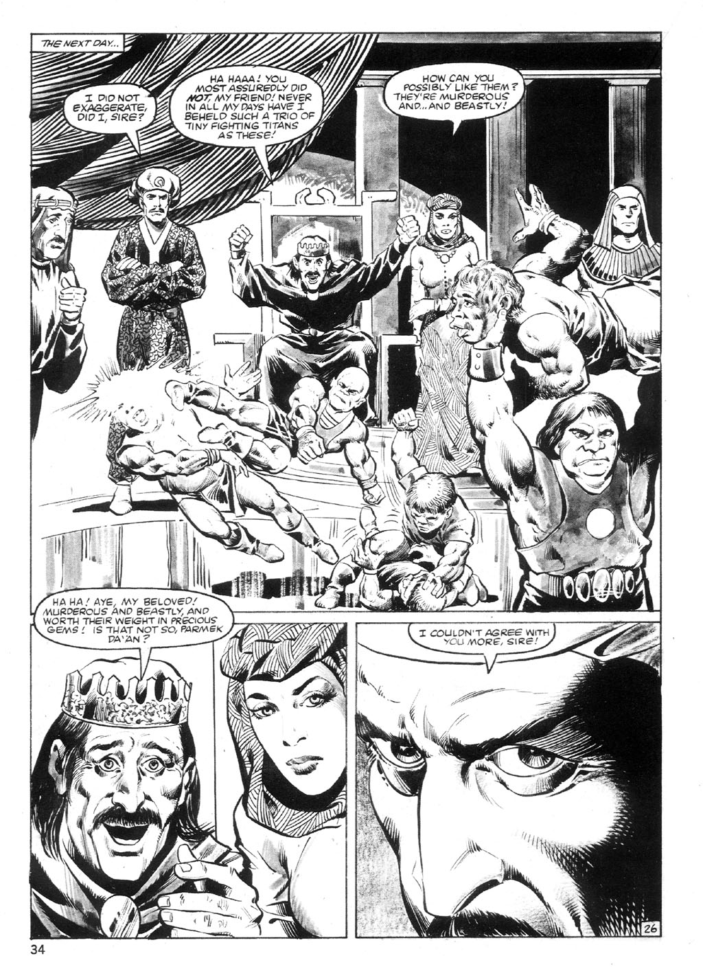 The Savage Sword Of Conan Issue #94 #95 - English 33