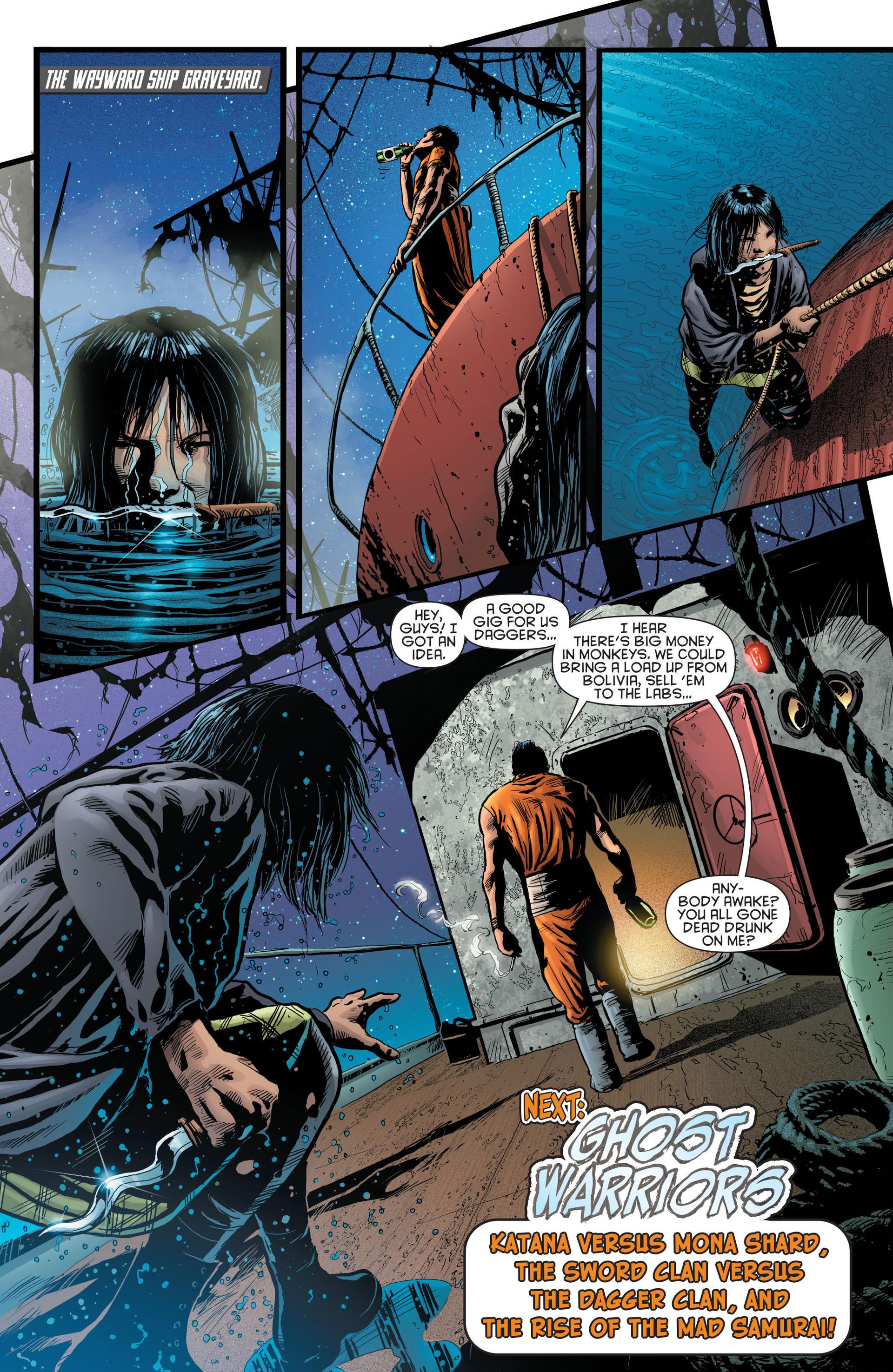 Read online Katana comic -  Issue #8 - 20