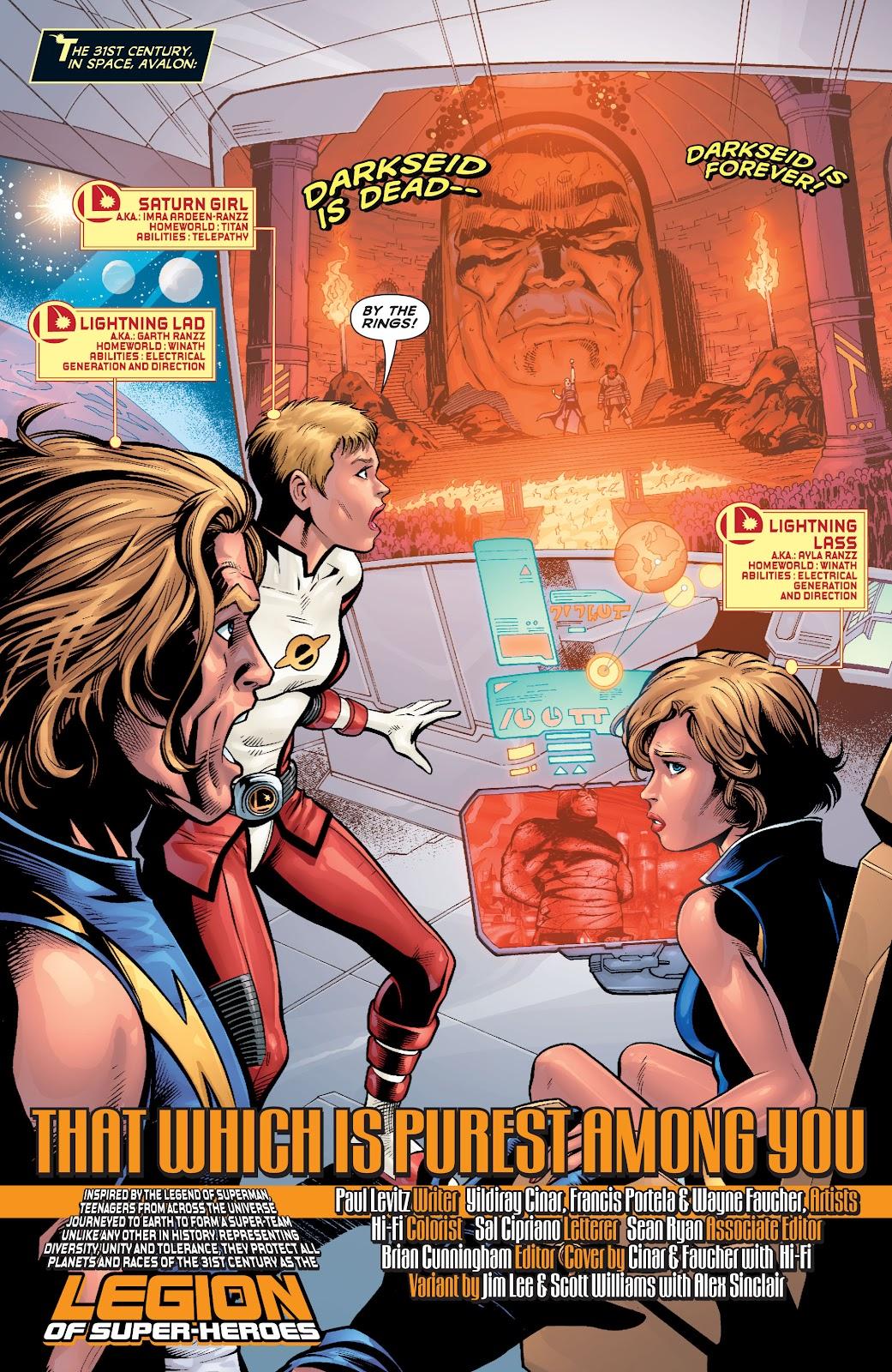Legion of Super-Heroes (2010) Issue #4 #5 - English 3