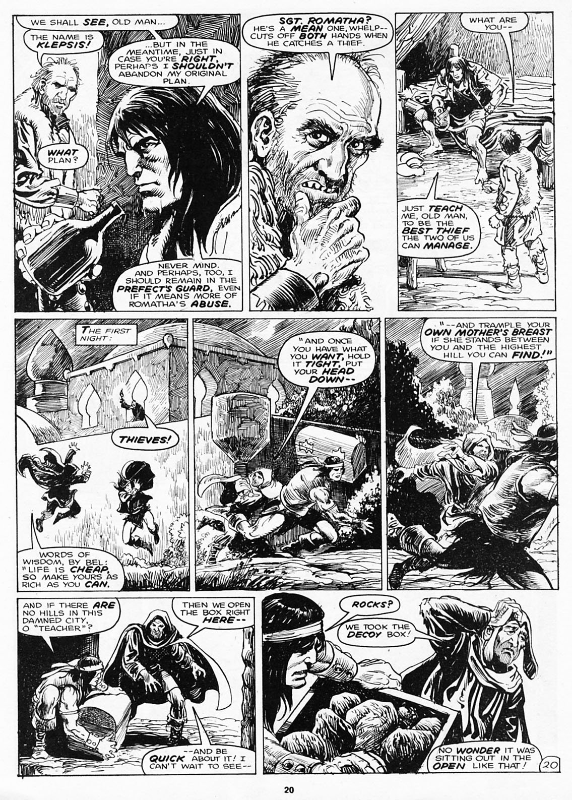 The Savage Sword Of Conan Issue #180 #181 - English 22