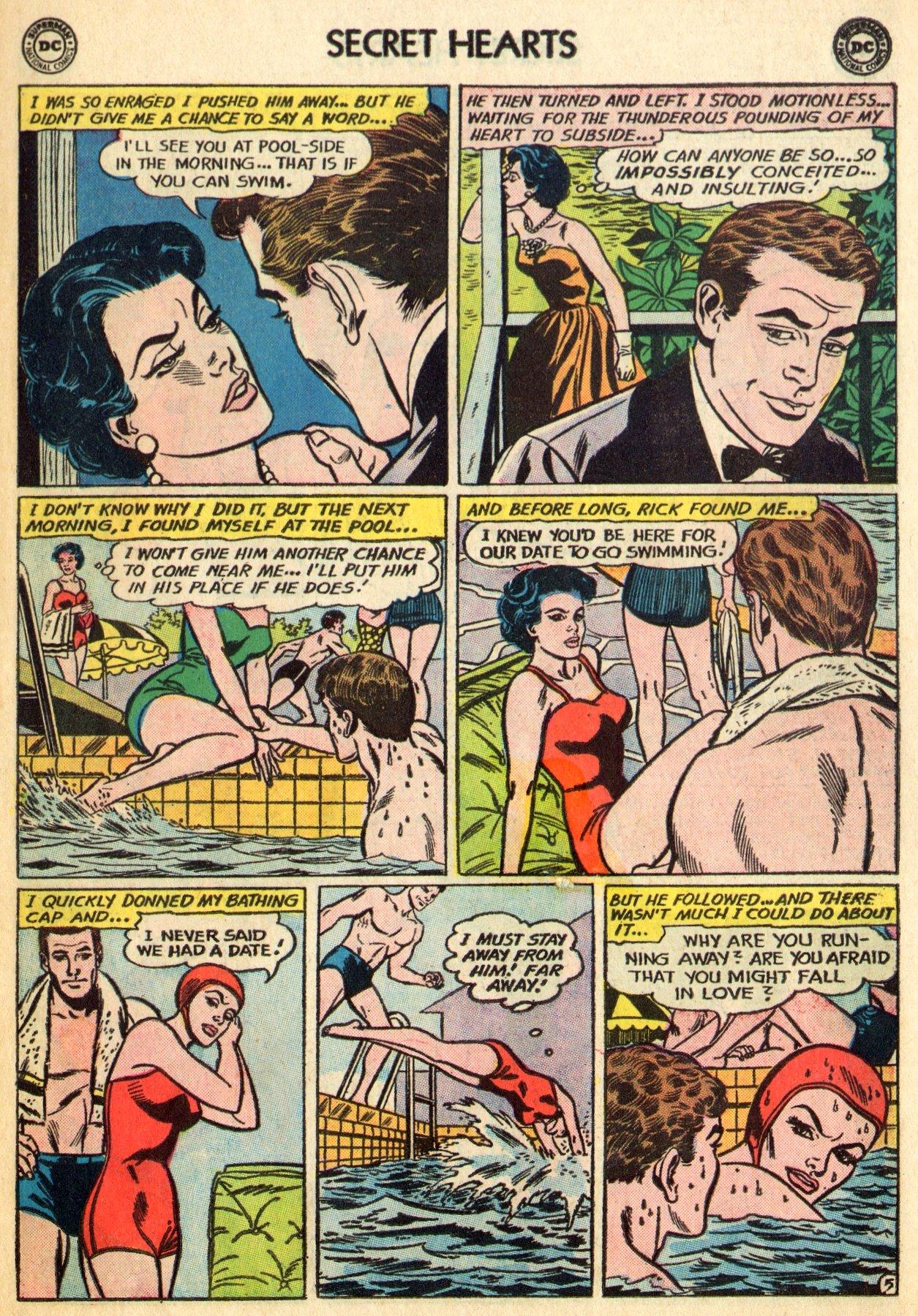 Read online Secret Hearts comic -  Issue #96 - 7