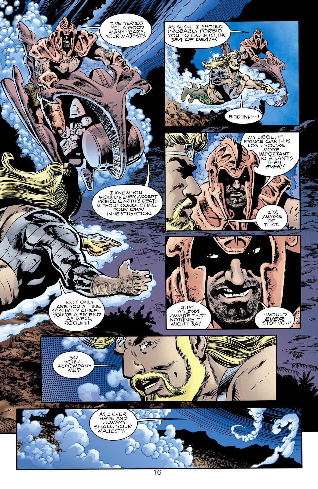 Aquaman (1994) Issue #74 #80 - English 16