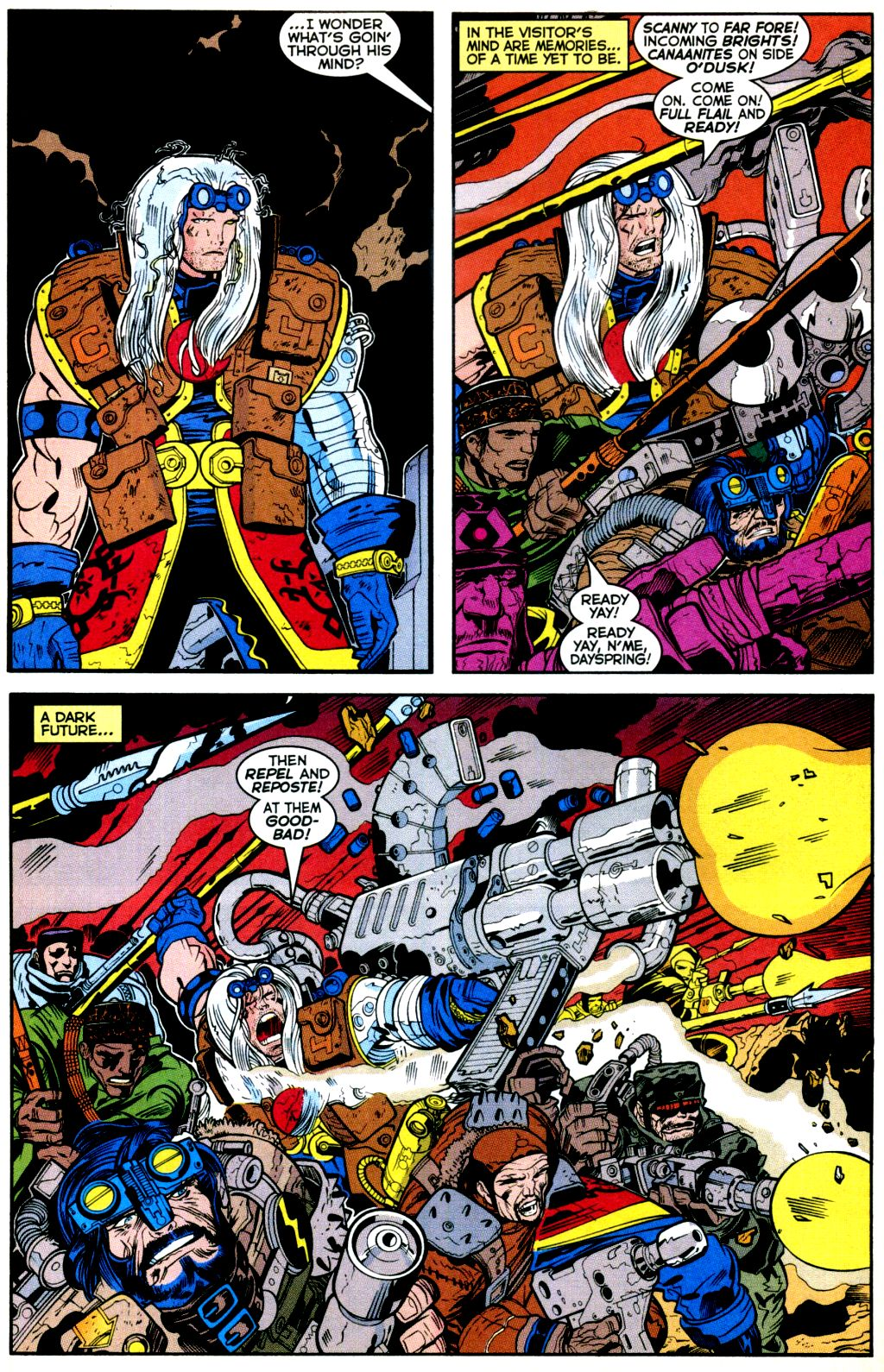 Cable (1993) #-1 #109 - English 12