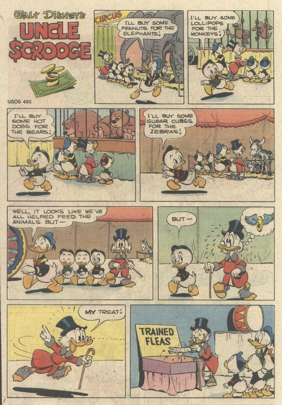 Uncle Scrooge (1953) Issue #241 #241 - English 66