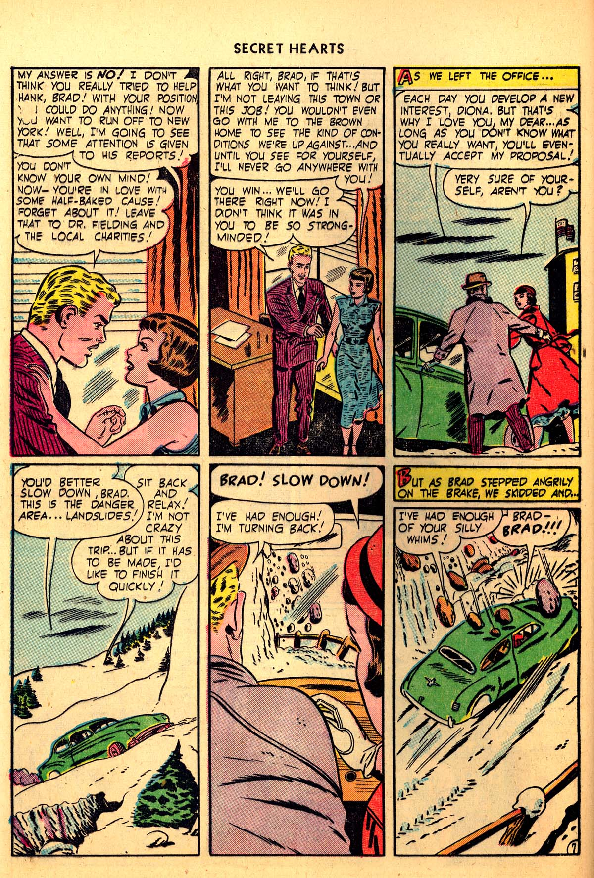 Read online Secret Hearts comic -  Issue #6 - 36