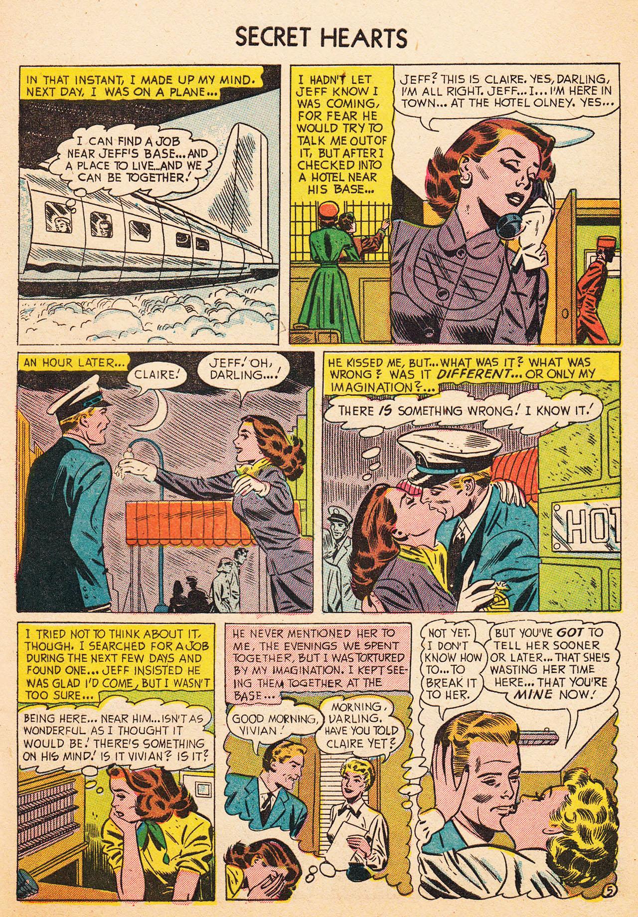 Read online Secret Hearts comic -  Issue #13 - 31
