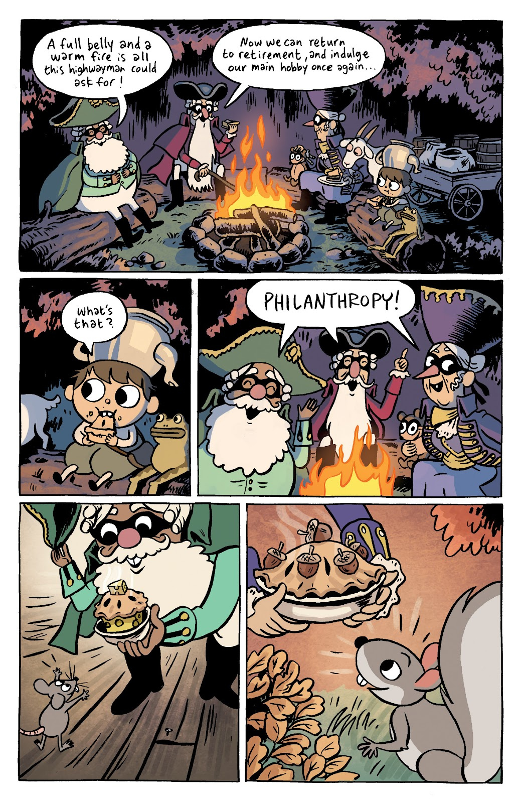 Over the Garden Wall (2016) Issue #11 #11 - English 12